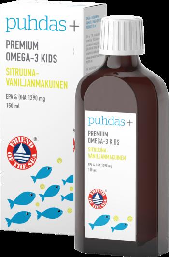 Omega 3 vaikams